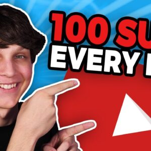 How to Get 100 Subscribers Every Day on YouTube ???? (Get Subscribers on YouTube Fast)