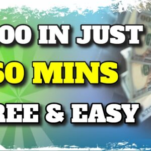Earn $100 In Just 60 MINUTES [AVAILABLE WORLDWIDE]