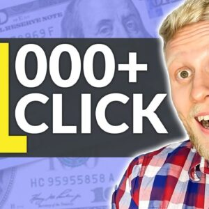 EARN $1,000 for 1 CLICK (High Ticket Affiliate Marketing for Beginners)