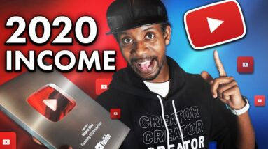 How Much YOUTUBE Paid Me in 2020 with 500K Subscribers // YouTube Money