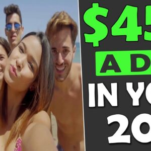 How To Make $450/DAY Fast Even as a 20YR OLD With Affiliate Marketing