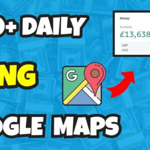 How To Make Money with Google Maps [$100+ PER DAY] Step-By-Step