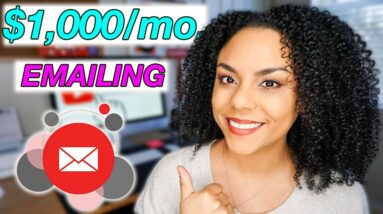 How To Make $1000 Per Month With Your Email List! Free Email Marketing Training!