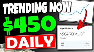Earn $450+ Daily NEW TRENDING METHOD To Make Money Online 2021 With Affiliate Marketing!