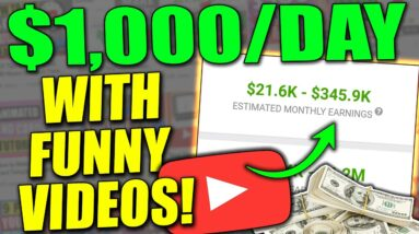 Get Paid $1000 a Day With Funny Videos | Easy Way To Make Money Online 2021