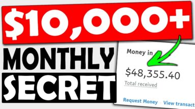 Make $10,000+ MONTHLY Using this (FREE) Secret Affiliate Marketing Training (For Beginners)