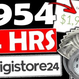 How To Make $954.20 in 24Hrs Using Digistore24 (Free Digistore24 Affiliate Marketing Tutorial)