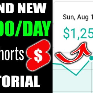 How To Make Money With YouTube Shorts | The BEST YouTube Shorts Tutorial To Make $1000 /Day