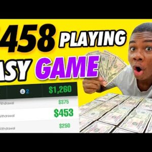 Earn $458 REAL Paypal Money Playing Games! (Make Money Playing Games)
