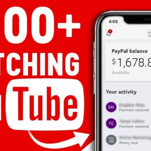 Earn $500 Watching YouTube Videos! Available Worldwide (Make Money Online)