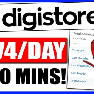 Digistore24 Tutorial for Beginners, Earn $674/Day Set up in 30Mins (Digistore24 Affiliate Marketing)