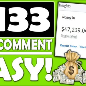 Affiliate Marketing Tutorial To Make Money Online & Get Paid $133 Per Comment (START NOW)