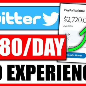 ($380/Day) EASY Twitter Affiliate Marketing Tutorial For Beginners   Make Money With Twitter - FREE