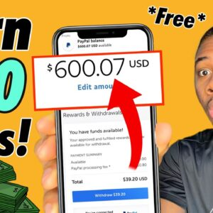 Get Paid $600 In 10 Mins With NEW Trick! *Working* (Make Money Online 2021)