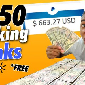 Get Paid $650 Paypal Money Just Clicking Links! *FREE* (Make Money Online)