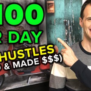 The Best Side Hustles To Start Today (I Tried This and Made Over $100/Day)