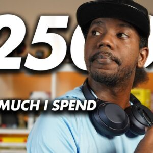 How I Spend My $25,000 Monthly Income (as a Full-time YouTuber)