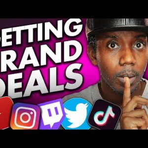 How Small YouTubers and Influencers Get PAID Brand Deals - STEP BY STEP