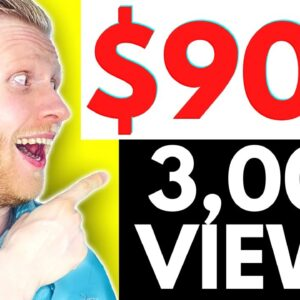 How to EARN $900 with 3,000 VIEWS ON YOUTUBE? (Make Money on YouTube)