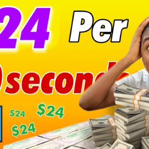 Get Paid $24 Every 60 SECONDS Viewing Free Images! ($1,264 Paid) | Make Money Online