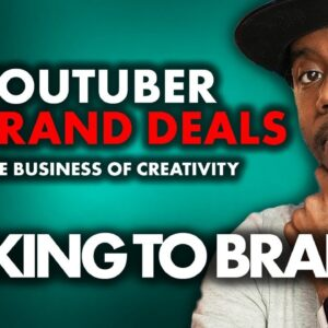 Influencer Brand Deals and How to Talk to Brands | YouTube LIVE Q&A