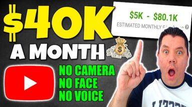 How To Make Money On YouTube Without Showing Your Face ($1,000/Day) Full Tutorial!