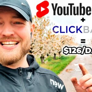Make Quick $126 Per Day Using YouTube Shorts And Clickbank
