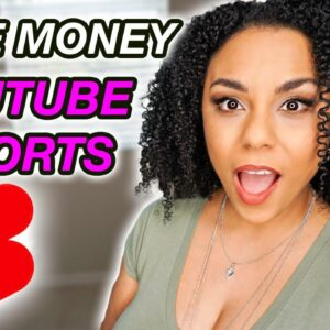 How To Make Money With YouTube Shorts Without Making Videos 2021! (Easy Steps)