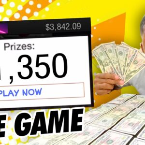 This FREE Game Pays $1,350 REAL Paypal Money Just To Play! (Paypal Free Money)