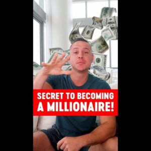 Secret To Becoming a Millionaire! #shorts