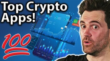 TOP 10 BEST Crypto Apps: What's On My Phone!! 📱
