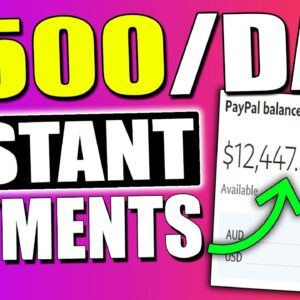 Earn $500/Day PAID INSTANTLY In Passive Income Downloading Files (Make Money Online)